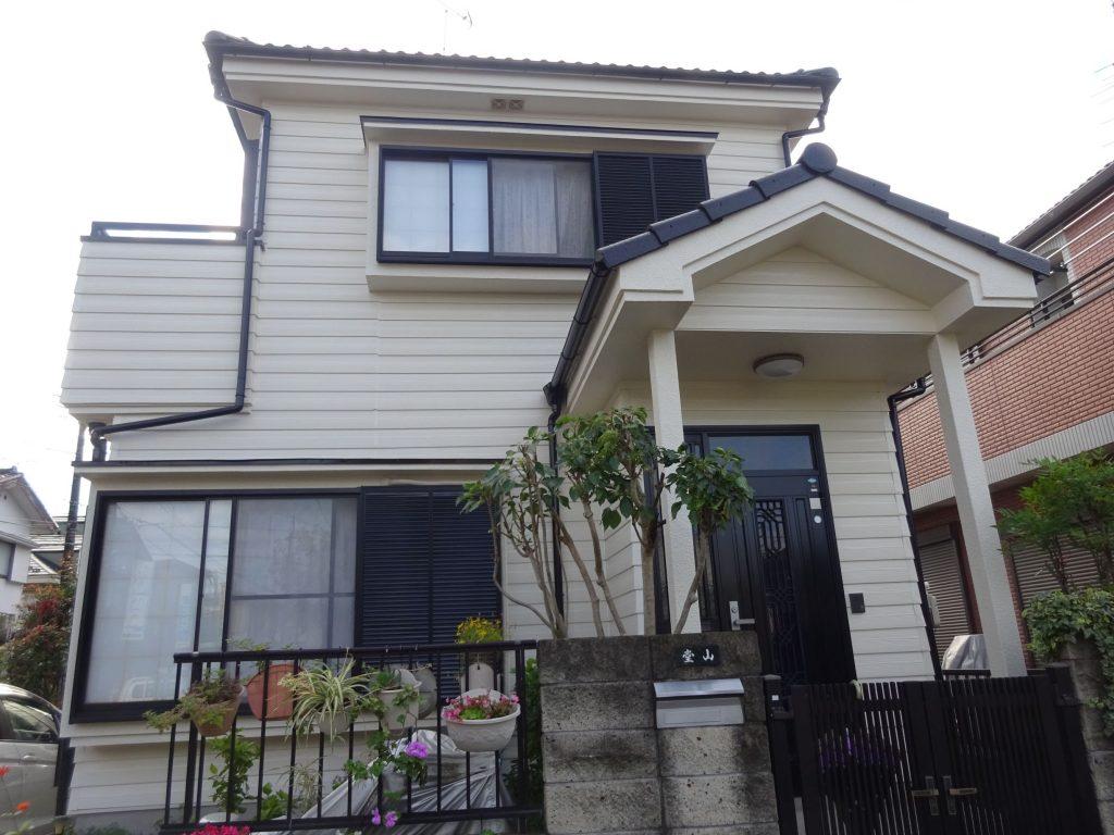 入間市大字小谷田で外壁・屋根塗装とベランダ改修工事
