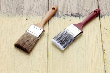 1液型の塗料と2液型の塗料のそれぞれの特徴