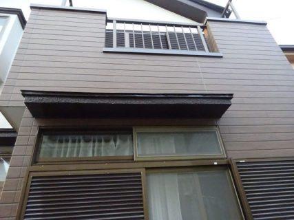 瑞穂町二本木でDKの雨もり・2階のベランダからの雨もり改修工事