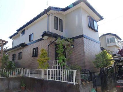 瑞穂町箱根ヶ崎西松原で外壁塗装工事